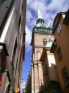 The German's Church I'm Gamla Stan