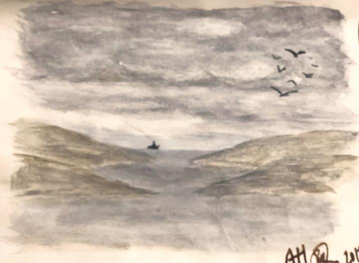 Coming home - Alan Horne AH Art