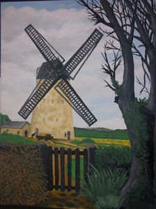 Bidston Mill Wirral Uk