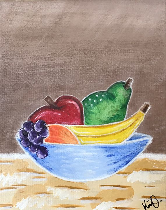 Fruit Bowl - Kimberli Witucki