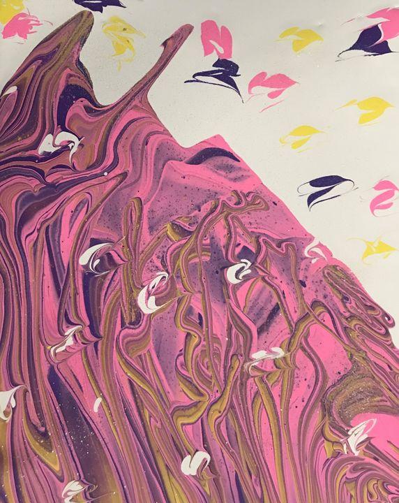 Ice Cream Pour Paint - Kimberli Witucki