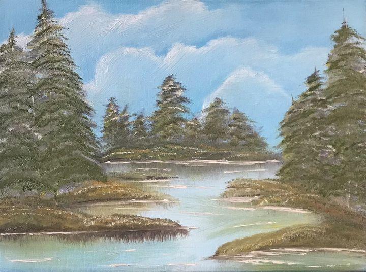Water and Tree Scenery - Kimberli Witucki