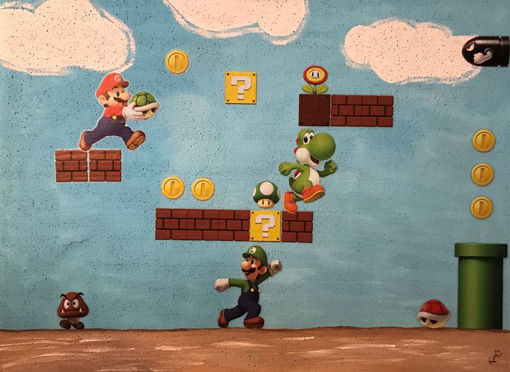 Mario Bros. - Kimberli Witucki