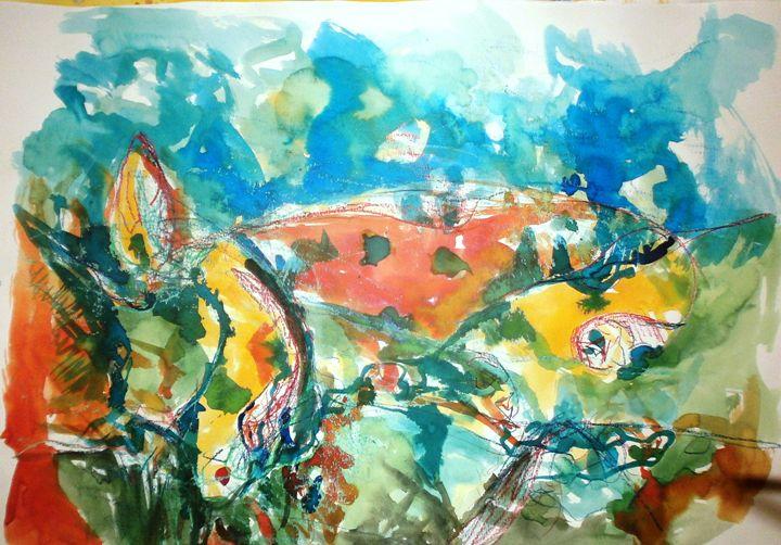 My landscape - Julija Art