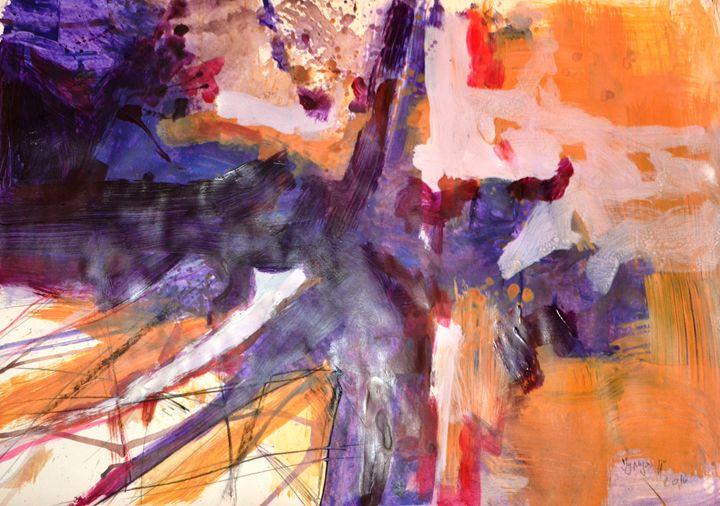 Violet thunder - Julija Art