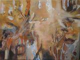Orginal Painting, Orange in mz mind