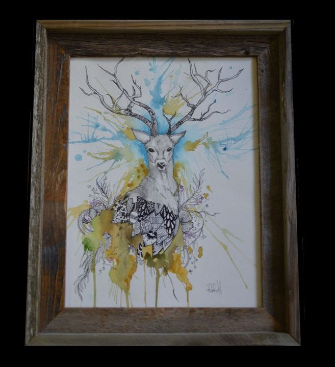 Deer Antler - Wicked Wallow Designs