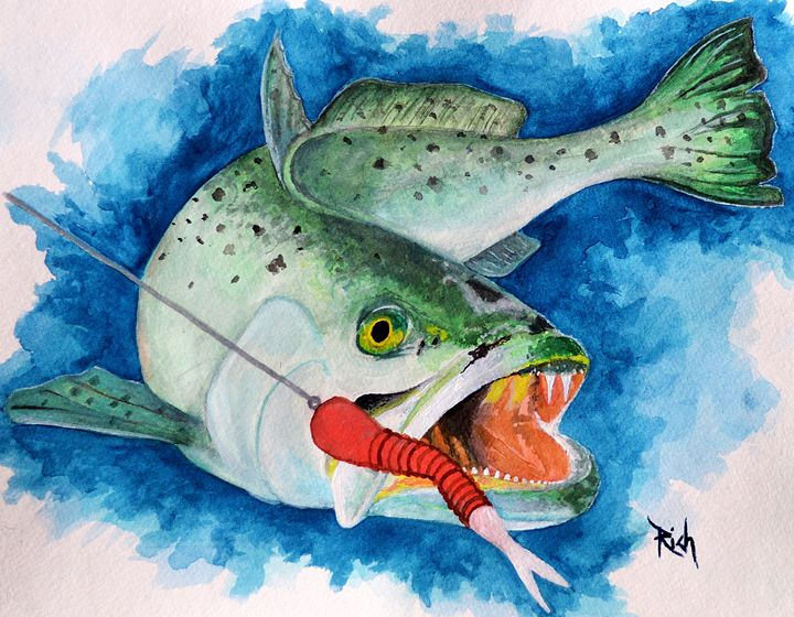 Trout - Wicked Wallow Designs