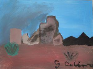 Desert View (Acrylic)