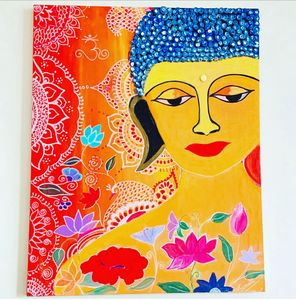 Buddha &Mural Art