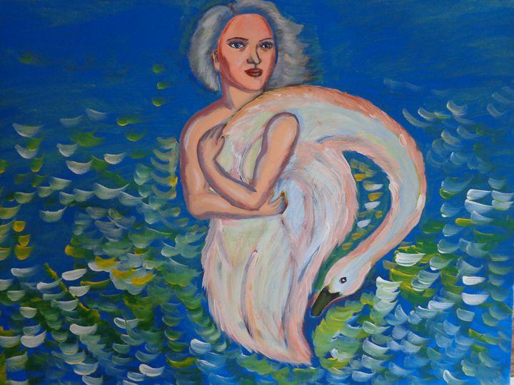 Swan-woman - Artbox
