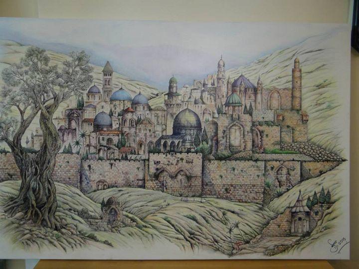 Jerusalem magic - Samir saqallah