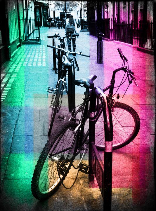 Bicycles - Lynn Bolt Lochside Photos