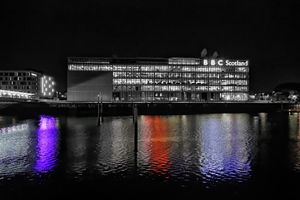 Reflections in the River Clyde