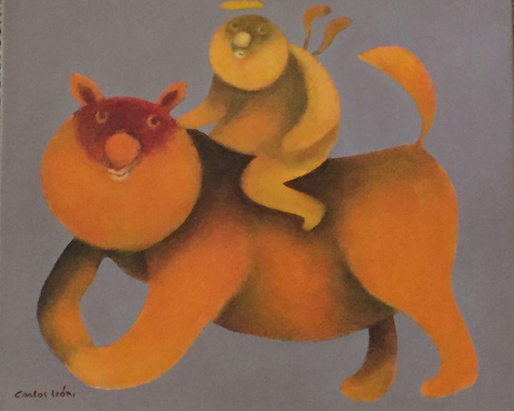 My Heaven Horse - Carlos León Cruz Art