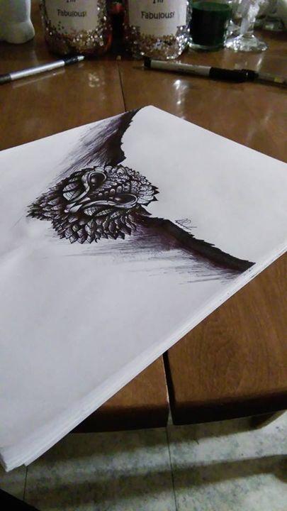 owl tatoo - Dracob Designs