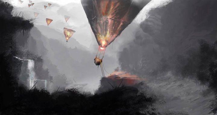 air balloons - Dracob Designs