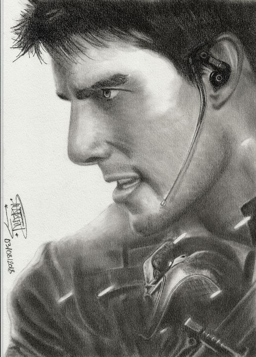 M:I:III poster drawing - Marv