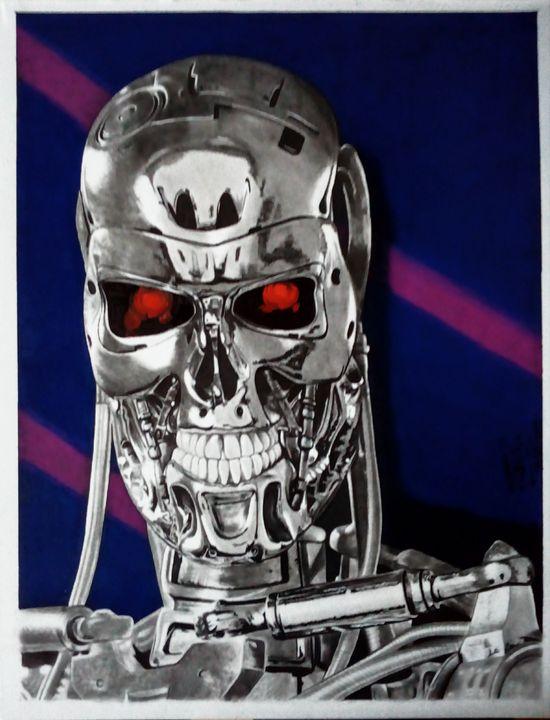 Terminator T-800 Metal Endoskeleton - Marv