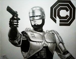 RoboCop (1987) Drawing