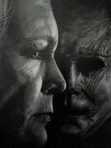 Halloween (2018) poster drawing