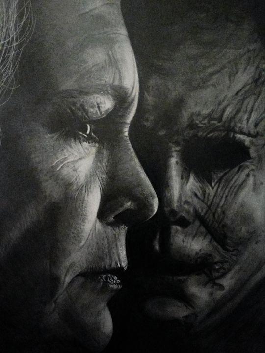 Halloween (2018) poster drawing - Marv