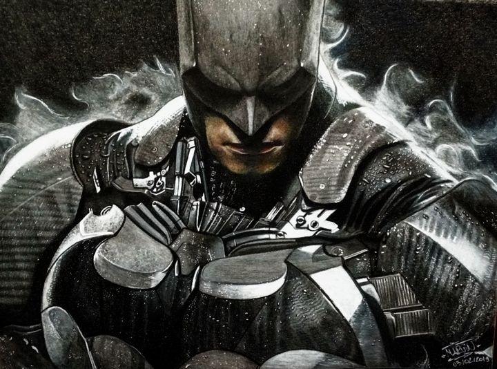 Batman: Arkham Knight Drawing - Marv