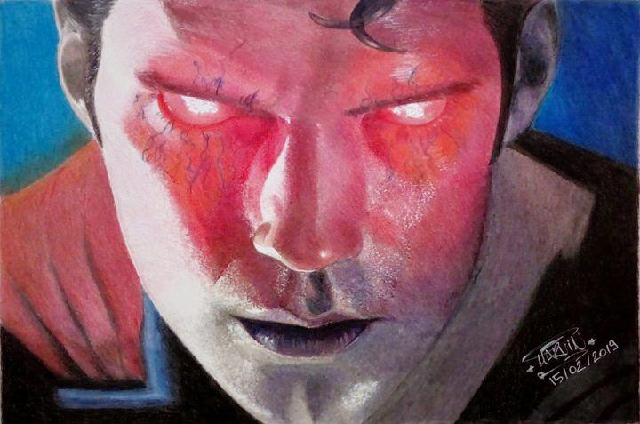 Batman V Superman Poster Drawing - Marv