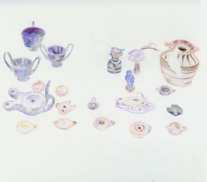Vases and Artifacts by Robert S. Lee - Robert S. Lee