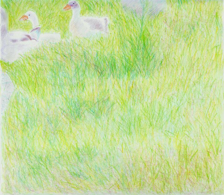 Geese by Robert S. Lee (p. 46) - Robert S. Lee