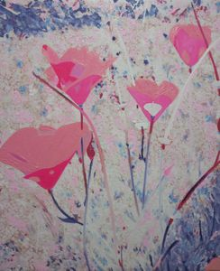 Re-Created Poppies, Pink