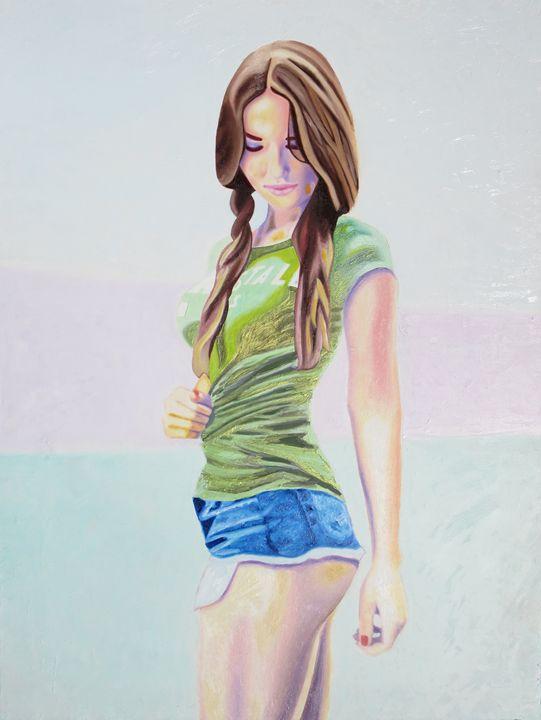 Re-Created Girl in Green, Maria - Robert S. Lee