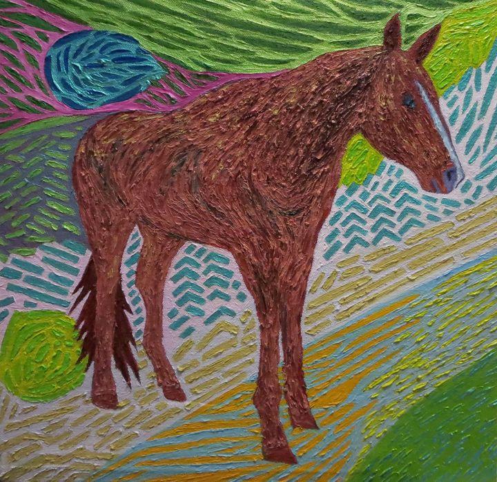 Re-Created Sugar the Horse by Robert - Robert S. Lee