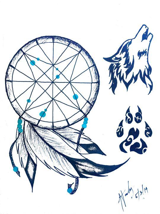 Howling Dreams - HR-Original Art