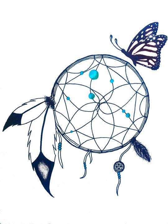 I Dream of the Monarchs - HR-Original Art