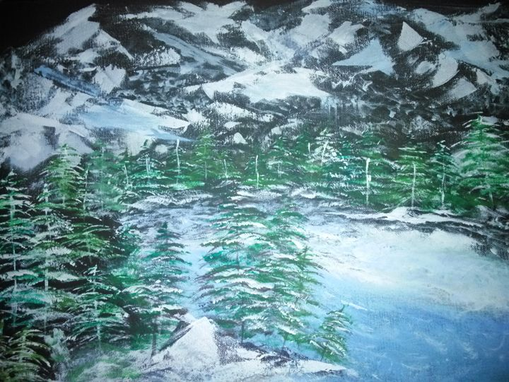 winter wonderland - mike hamilton