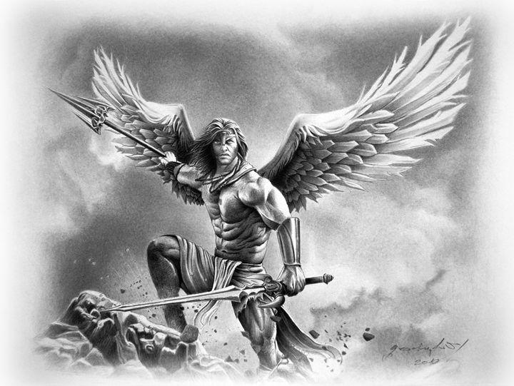 ANGEL WARRIOR - MiroArt