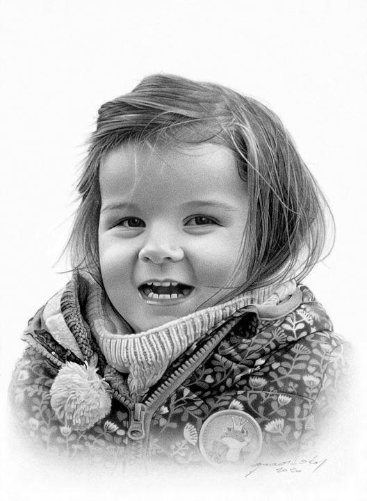 SWEET LITTLE GIRL - MiroArt