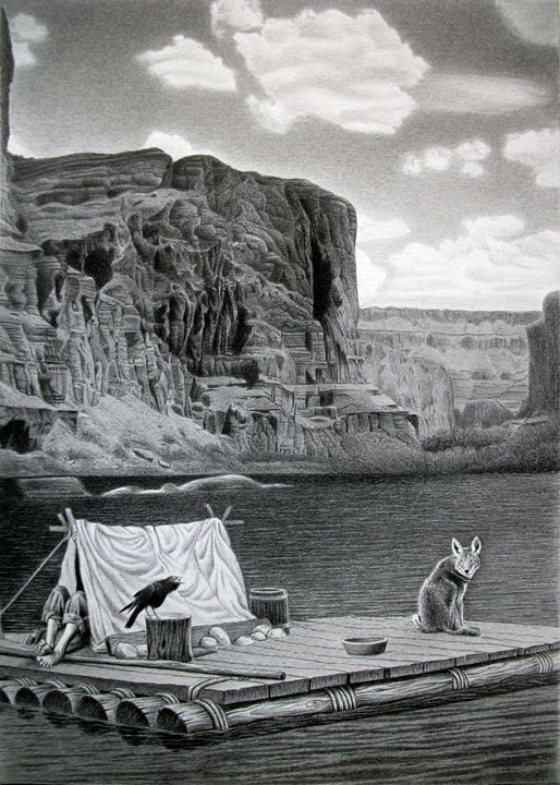 IN THE GRAND CANYON - MiroArt