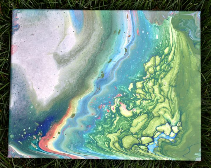 Serene Lillies - rachel con