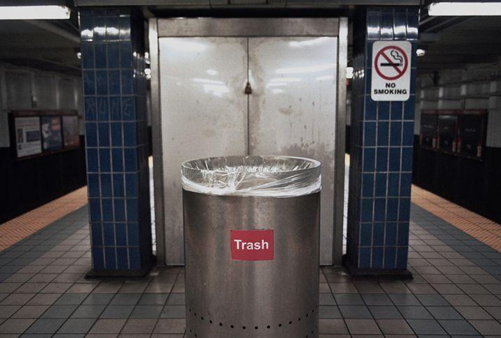 trashcan - Aubrey Carpenter