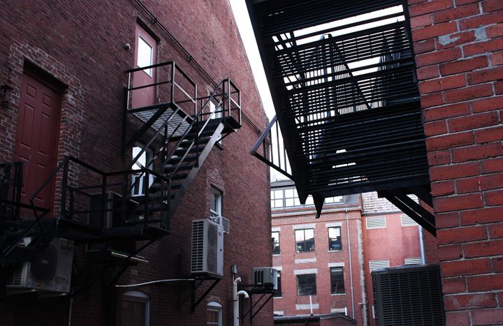 Fire Escape - Aubrey Carpenter