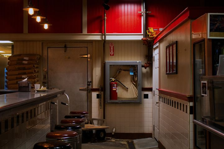 red diner - Aubrey Carpenter