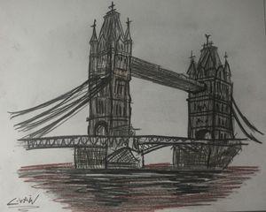london landmark 'Tower Bridge'
