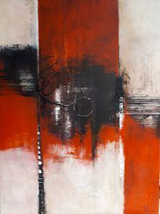Un long parcours - Tibo Artiste peintre
