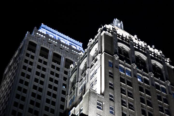 Night Buildings - MTB Photography