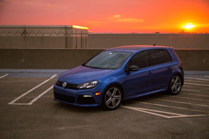 VW Sunset - MTB Photography