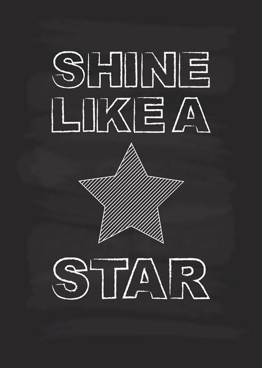 Shine Like A Star - TheDigitalCo