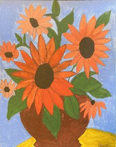 Wiltering Daisy Flowers