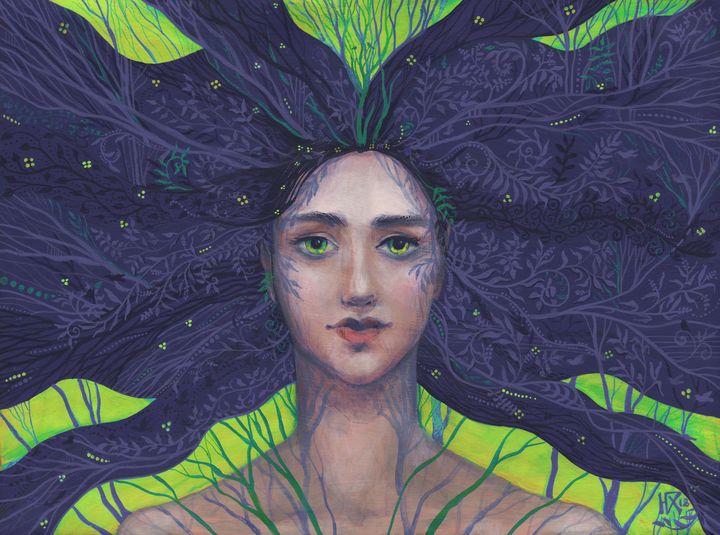 Primavera (green version) - Julia Khoroshikh / Clipso-Callipso